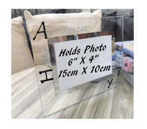 Personalised/Non personalised 7th Anniversary Picture Photo Frames Land