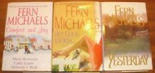 FERN MICHAELS lot of 3 LARGE PRINT Hardcover Romance Novels *Free Shipping!
