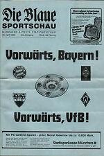 BL 85/86 FC Bayern München - Borussia Mönchengladbach, 26.04.1986 - Die Blaue