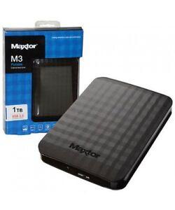 "HD ESTERNO 2,5 MAXTOR 1TB M3 HARD DISK HDD 1000GB 2,5"" AUTOALIMENTATO 3.0 1 TB"