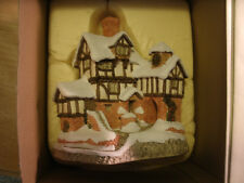 David Winter Cottages Scrooges Counting House - 1987 - Mint !
