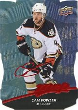 17/18 UPPER DECK MVP COLORS & CONTOURS LEVEL 1 BLUE #167 CAM FOWLER DUCKS *36869
