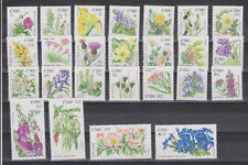 UMM MNH STAMP SET IRELAND EIRE IRISH WILDFLOWERS SG 1665-1689 FULL SET OF 25