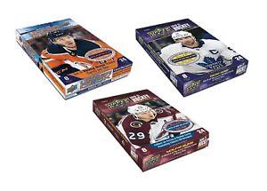 2020-21 Upper Deck Hockey Hobby Box Bundle : Series 1 + Series 2 + Extended