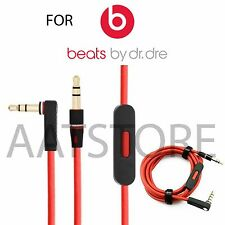 Replacement Audio Remote Talk 3.5 mm Cable For Beats By Dre Solo Hd Studio Pro
