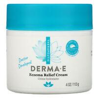 Derma E Psorzema Cream 4 oz 113 g Cruelty-Free, Gluten-Free, Hypoallergenic, No