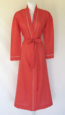 PERIPHERY SLEEP ROBE LOUNGE DRESS SIZE SMALL RED WHITE HEARTS BELT MADE CANADA