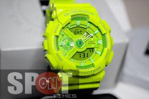 Casio G-Shock GA110 Base Hyper Colors Ladies Watch GMA-S110CC-3A