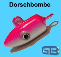 Meeresjig Dorschbombe 25g, 40g, 50g, 75g, 100g Jig Bleikopf Kopf Flexi Kopf.