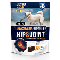 Vetiq Maximum Strength Hip And Joint Supplement For Dogs - Chicken Flavored Soft