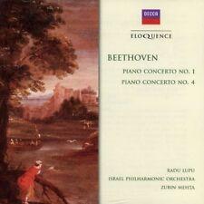 Ludwig van Beethoven - Beethoven: Pno Ctos Nos 1 & 4 [New CD]