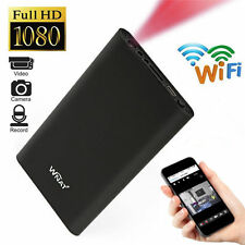 Mini 1080P WIFI HD SPY DVR Hidden Camera Power Bank Video Recorder Wireless Cam