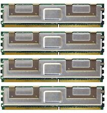 16GB (4X4GB) DDR2 MEMORY RAM PC2-5300 ECC FBDIMM DIMM **Tested** for Servers!!!