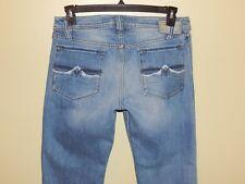 Diesel Zaf Bootcut Jeans Art 0072J Raveled Edge Back Pockets Sz 30 measures 32