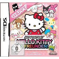 Nintendo DS DSI LITE XL Spiel Happy Party mit Hello Kitty & und Freunden NEU
