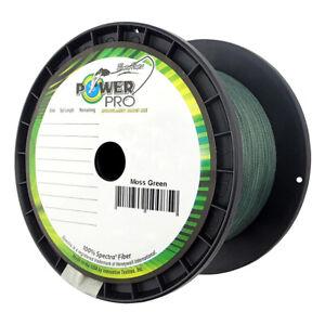 PowerPro Spectra Fishing Braid Line 1500 Yards -- Pick Color/Line Test
