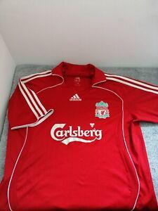 Liverpool Home Shirt 2006/2008 Football GERRARD #8 Adidas