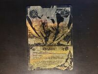 Naruto CCG - Deidara [Plastic Arts] 480 Super Rare Gold NM