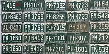 usa licence number plates