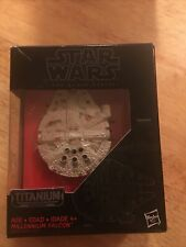 Star Wars MILLENNIUM FALCON 01 Titanium Series The Force Awakens Black Series