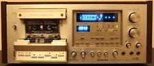 Vintage Pioneer CT-F1250 Cassette Deck Wood Case Working (Please see Details)
