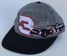 Dale Earnhardt Sr #3 NASCAR Baseball Cap Hat Goodwrench One Size S/M Vtg