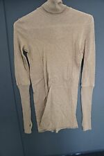 Enza Costa Turtle Neck Long Sleeve Size:Small