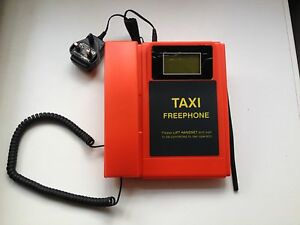 RED GSM Taxi Free Phone Autodial Hotdial DPH500 No Buttons ** RARE ITEM !! **