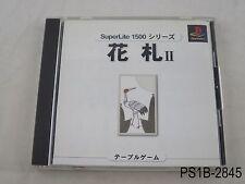Hanafuda 2 Superlite 1500 Series Playstation 1 Japanese Import PS1 US Seller B