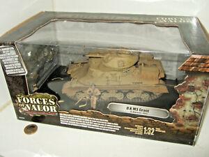 Forces of Valor 81211 UK M3 Grant Tank & Commander, El-Alamein 1942  1:32 Scale