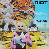 RIOT - ROCK CITY  CD NEU