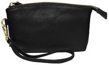 Leather Clutch Purses & Wallets for Women with Strap