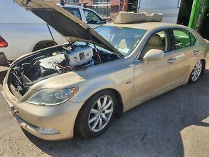 Lexus LS460 LS600 Door Window Bumper Suppor Headlight Bonnet Breaking Parts 4T1