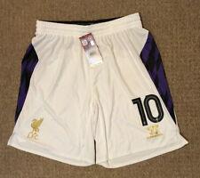 Men's Liverpool third football shorts size L number 10 Warrior 2013-2014 BNWT