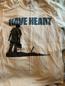 have heart - tshirt - s - ukhc hxc sxe