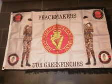 Ulster Defence Regiment UDR Greenfinches peacemakers British  Flag 3X5 ft