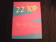 ZZ TOP - 1981 Tour Program Booklet / VG+ / Hard Blues Rock AOR