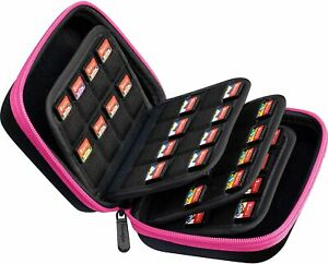 32-80 holders storage carry case for Nintendo Switch/PS vita game card, SD cards