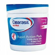 Clearasil Ultra Rapid Action Pore Face Pads X 65