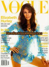 Australian Vogue 9/05,Elizabeth Hurley,September 2005,NEW