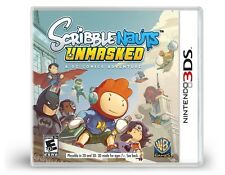 Scribblenauts: Unmasked - A DC Comics Adventure [Nintendo 3DS, NTSC, Summon] NEW