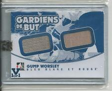 Gump Worsley Superlative Vault 1/1 on BBR Gardiens de But.  Sapphire Logo.