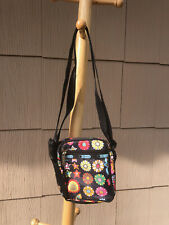 Lesportsac Flower and Star Print Camera Style New without Tags