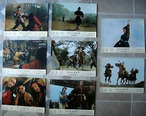 """BELLS OF DEATH 8 Chinese Lobby Card Ptd in HK 26.5x35"""" Film movie poster 1968"""