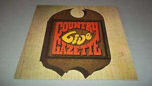 COUNTRY GAZETTE - LIVE - LP - MADE IN USA