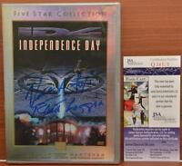 Independence Day DVD Autographed Signed Robert Loggia Vivica A Fox JSA COA