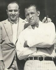 AL CAPONE & JACK SHARKEY 8X10 PHOTO MAFIA ORGANIZED CRIME MOBSTER MOB PICTURE