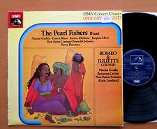 SXLP 30304 Bizet The Pearl Fishers Gounod Romeo & Juliet HMV Stereo NM/EX