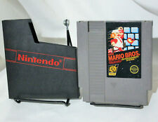 Super Mario Bros Nintendo NES Single Cartridge Dust Cover Polished