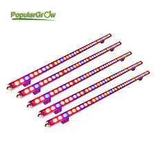 5PCs Waterproof 108W LED Grow Lights Bar Strip Red Blue Indoor Hydro Plants grow